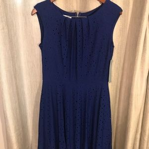 NWT London Time Fit & Flare Dress